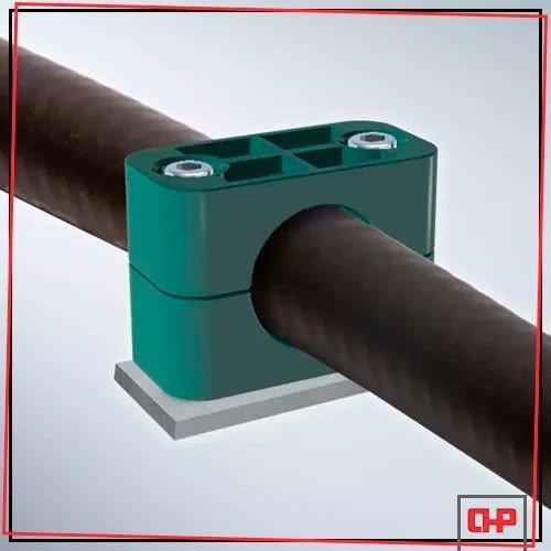 Abraçadeiras metálicas para tubos